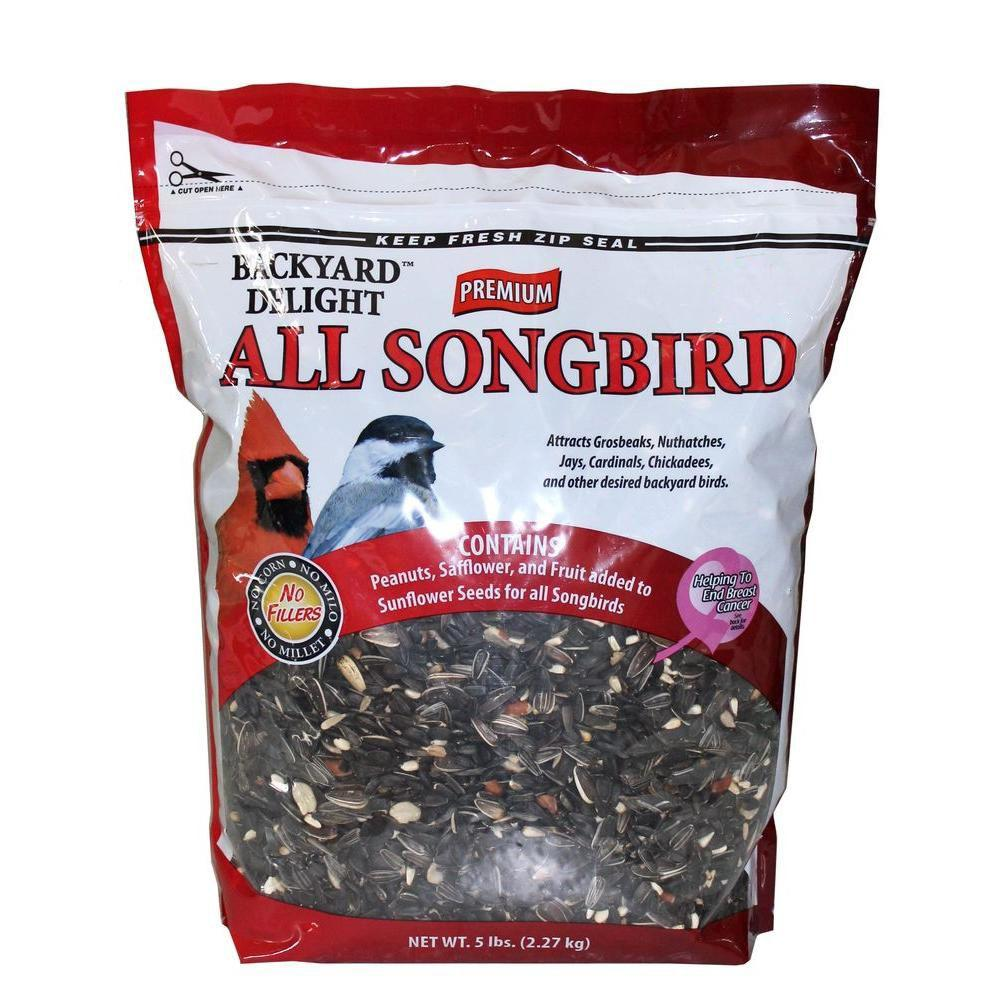 5 lb. All Songbird Bird Food