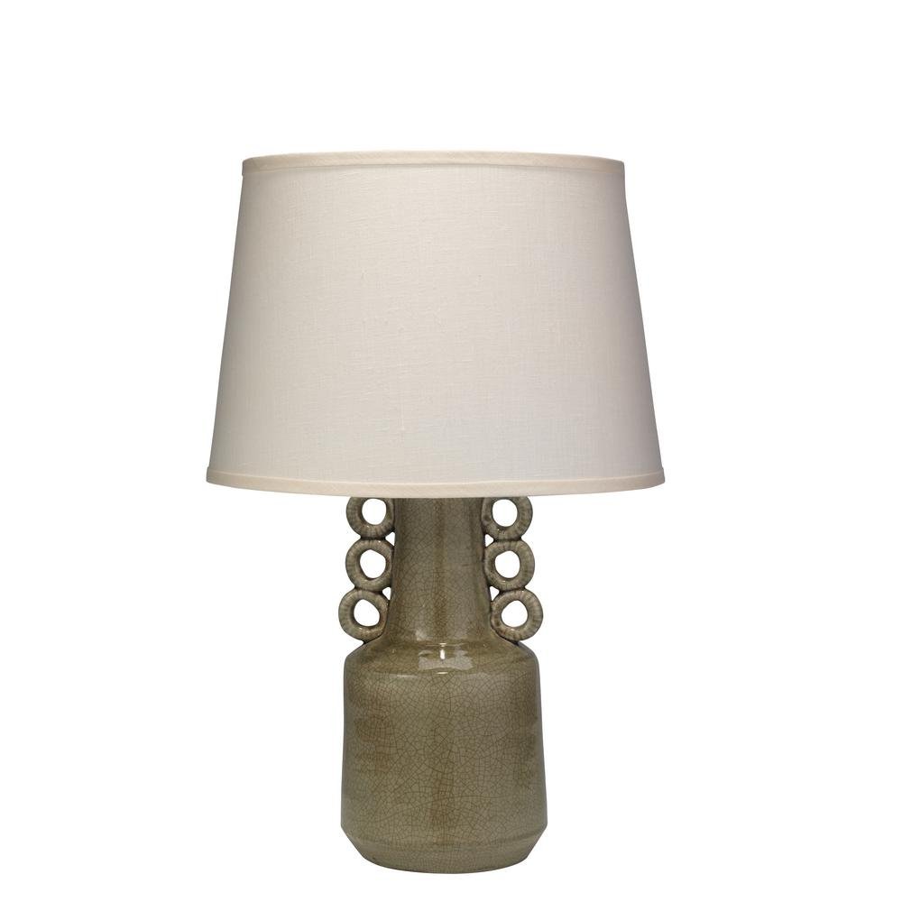 Bon Taupe Circus Table Lamp With Shade