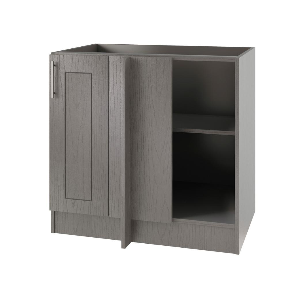 Kitchen Outside Doors: WeatherStrong Assembled 39x34.5x24 In. Palm Beach Island Blind Corner Outdoor Kitchen Base