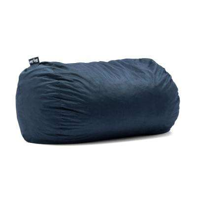Media Lounger Shredded Ahhsome Foam Cobalt Lenox Bean Bag