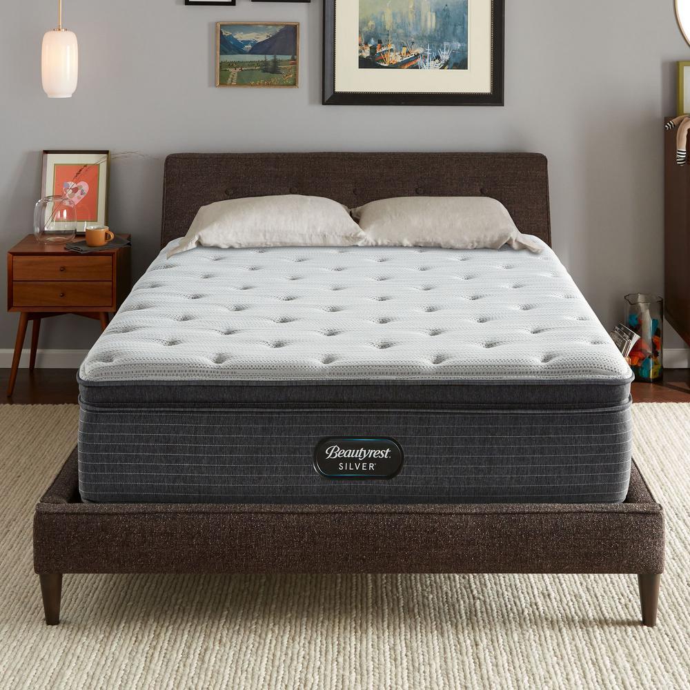 BRS900 15in. Medium Hybrid Pillow Top Twin XL Mattress