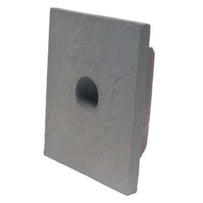 Sandstone Graphite 8 in. x 9 in. Small Universal Mounting Block