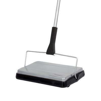 Compact Carpet Sweeper Cordless - No Batteries required
