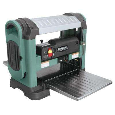 13 in. Heavy Duty Corded Bench Top Planer with Helical Cutter Head