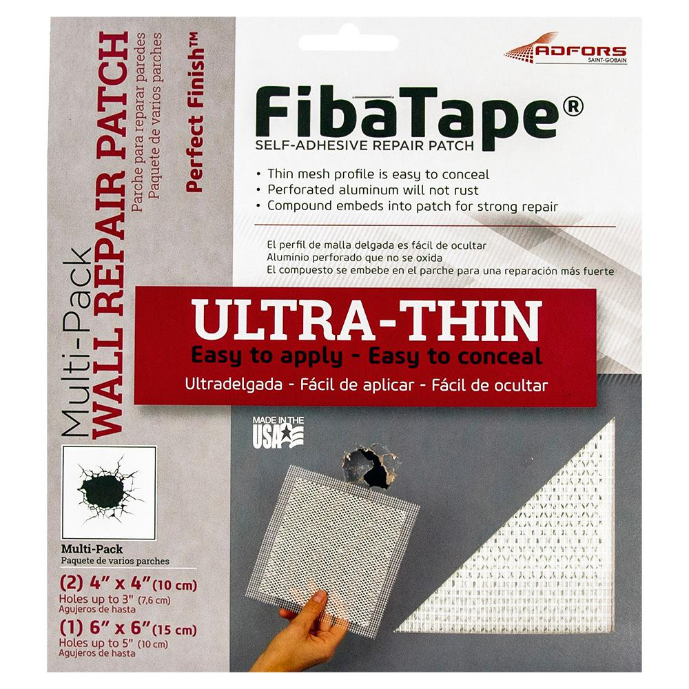 FibaTape FibaTape Perfect Finish Multi-Pack Wall Repair Patch