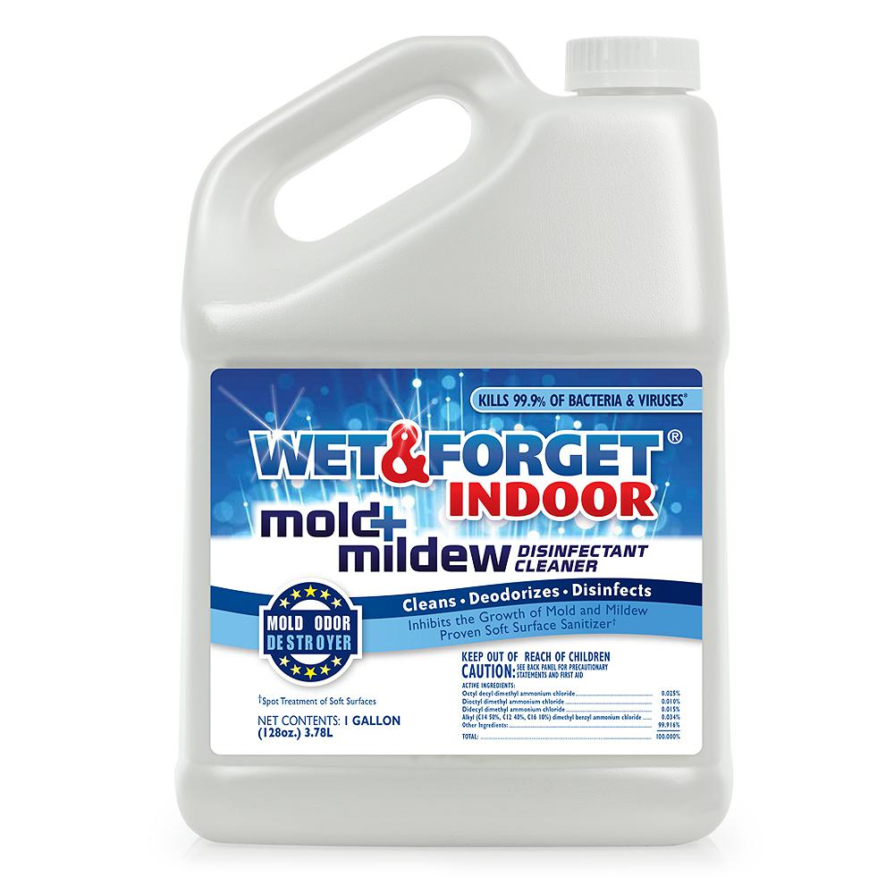 Wet & Forget 1 gal  Indoor Mold and Mildew Disinfectant Cleaner