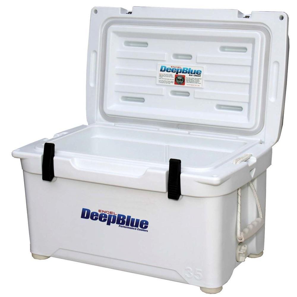 Engel Deep Blue 35 Qt. Performance Cooler, Whites