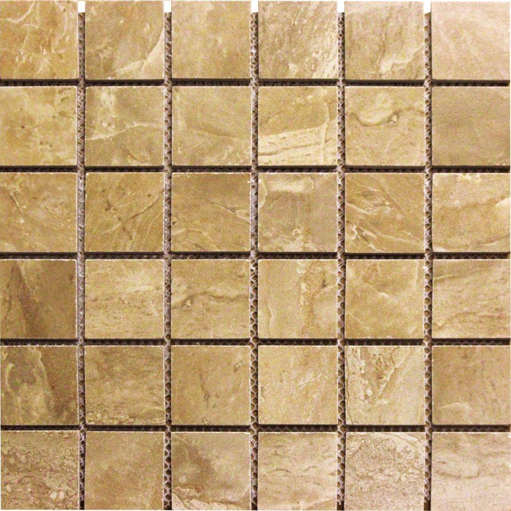 Msi Onyx Royal 12 In X 10mm Polished Porcelain Mesh Mounted Mosaic Floor And Wall Tile 8 Sq Ft Case Nonxroy2x2p The Home Depot