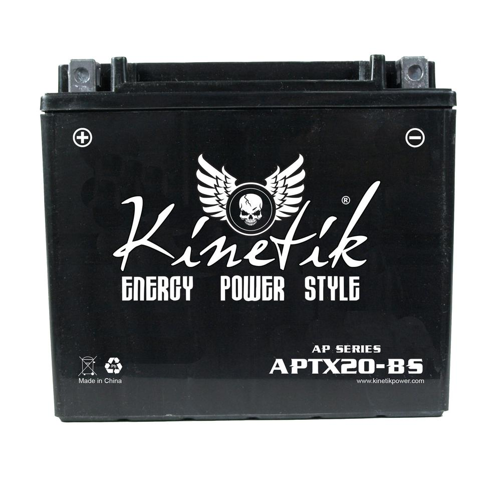 The Upgrade Group Dry Charge 12-Volt 18 Ah Capacity D Ter...