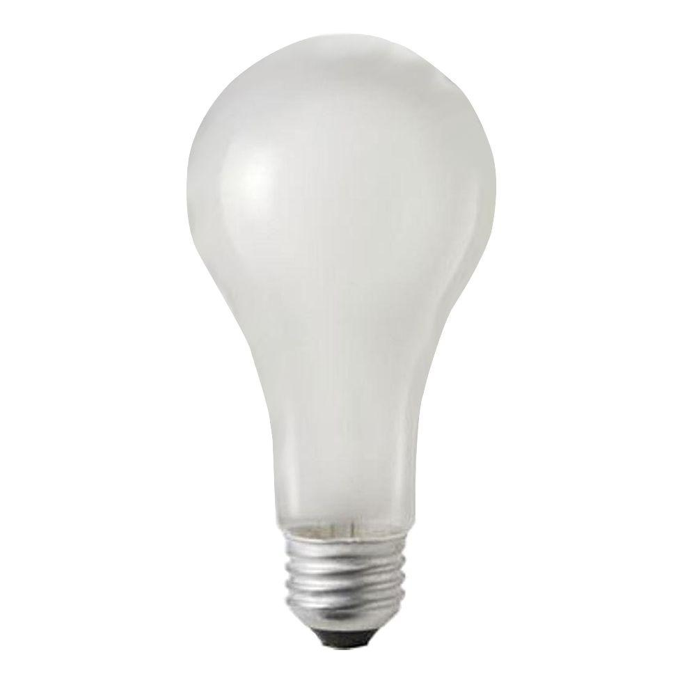 100-Watt A21 Incandescent 120-130-Volt Rough Service Frosted Light Bulb (60-Pack)
