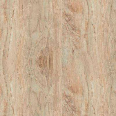 5 in. x 7 in. Laminate Countertop Sample in 180fx Oxidized Maple with Artisan Finish