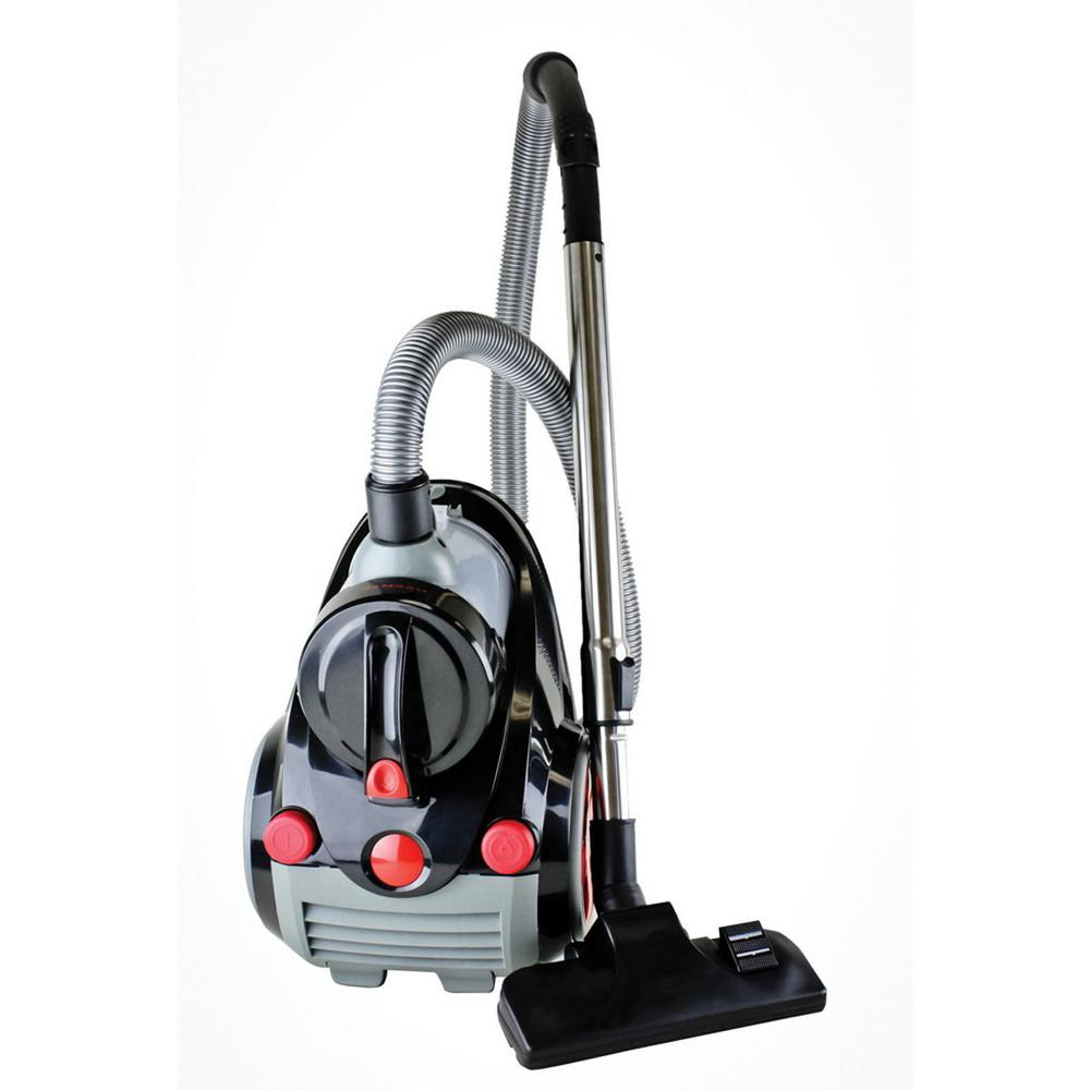 Ovente Featherlight Cyclonic Bagless Canister Vacuum Clea...