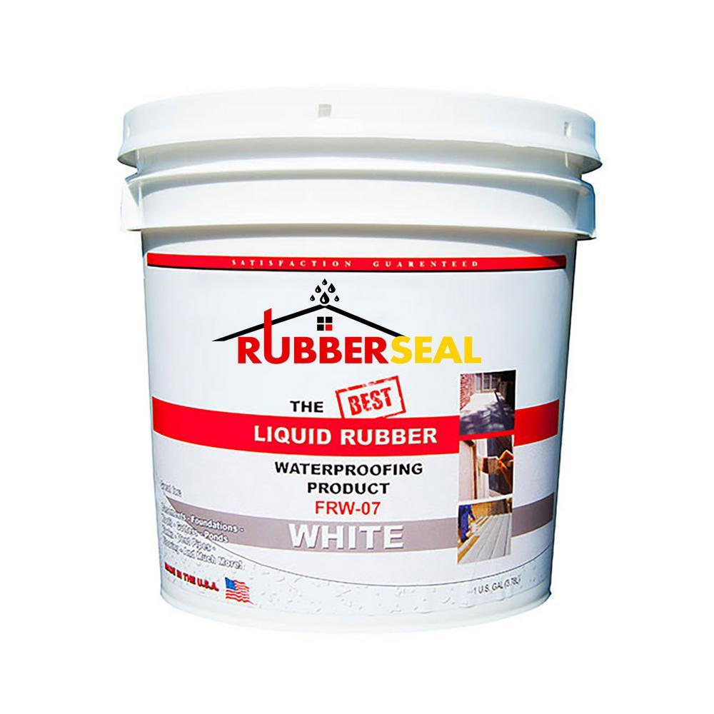 1 Gal. White Liquid Rubber
