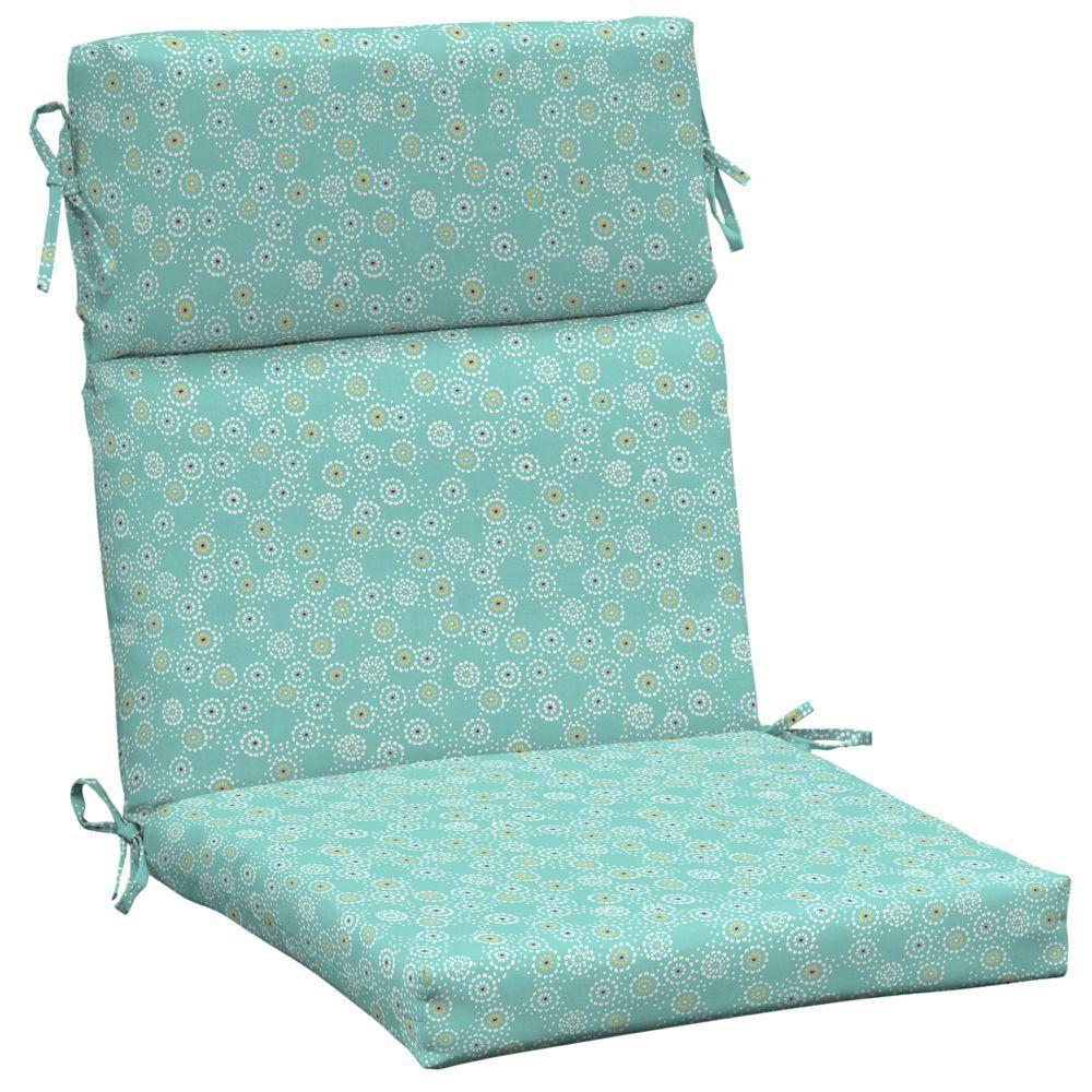 Arden Beachside Malika Pool High Back Outdoor Chair Cushion-DISCONTINUED