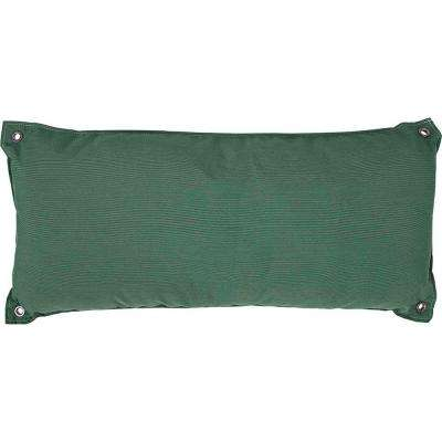 Traditional Green Olefin Hammock Pillow