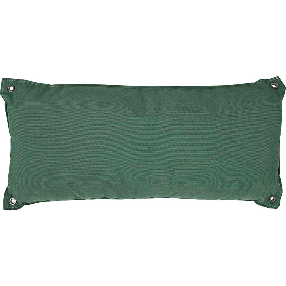 Traditional Green Olefin Hammock Pillow