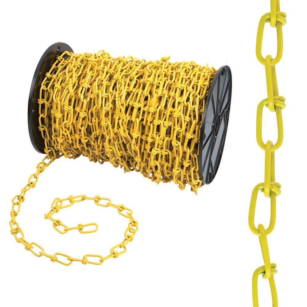 #2/0 x 175 ft. Yellow Double Loop Chain