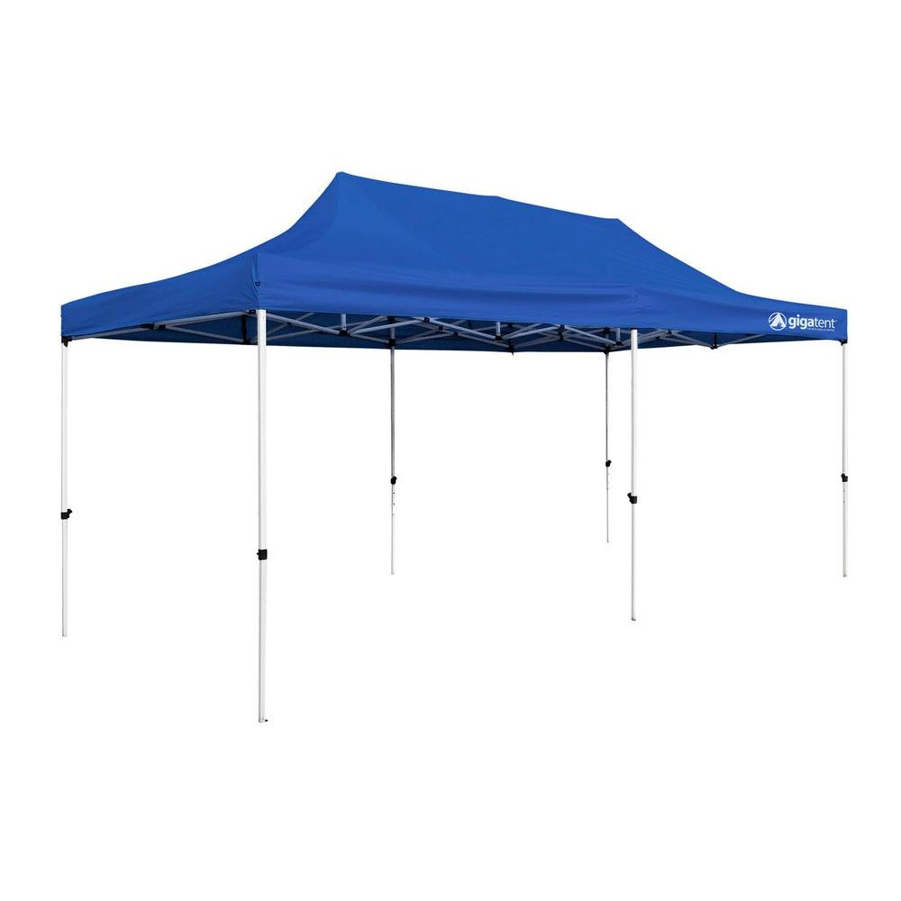 GigaTent Party Tent 10 Ft X 20 Blue Canopy GT004