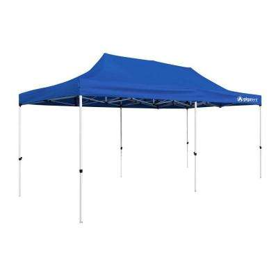 Party Tent 10 ft. x 20 ft. Blue Canopy