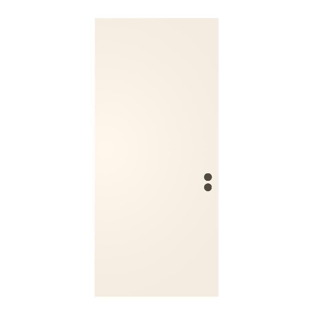 Merveilleux 36 In. X 79 In. Flush Primed Fiberglass Front Door Slab
