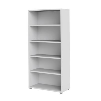Pierce White 5-Shelf Bookcase