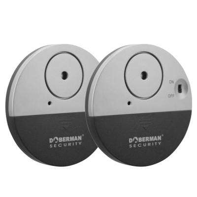 Ultra-Slim Door Window Alarm (2-Pack)