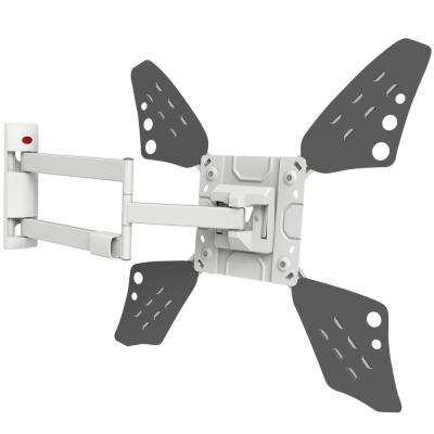 Barkan Full Motion Curved/Flat Panel Dual Arm TV Wall Mount for 40 in. to 70 in. Screens up to 88 lbs. UL certified
