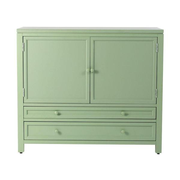Martha Stewart Living Craft Space Rhododendron Leaf Green Wood