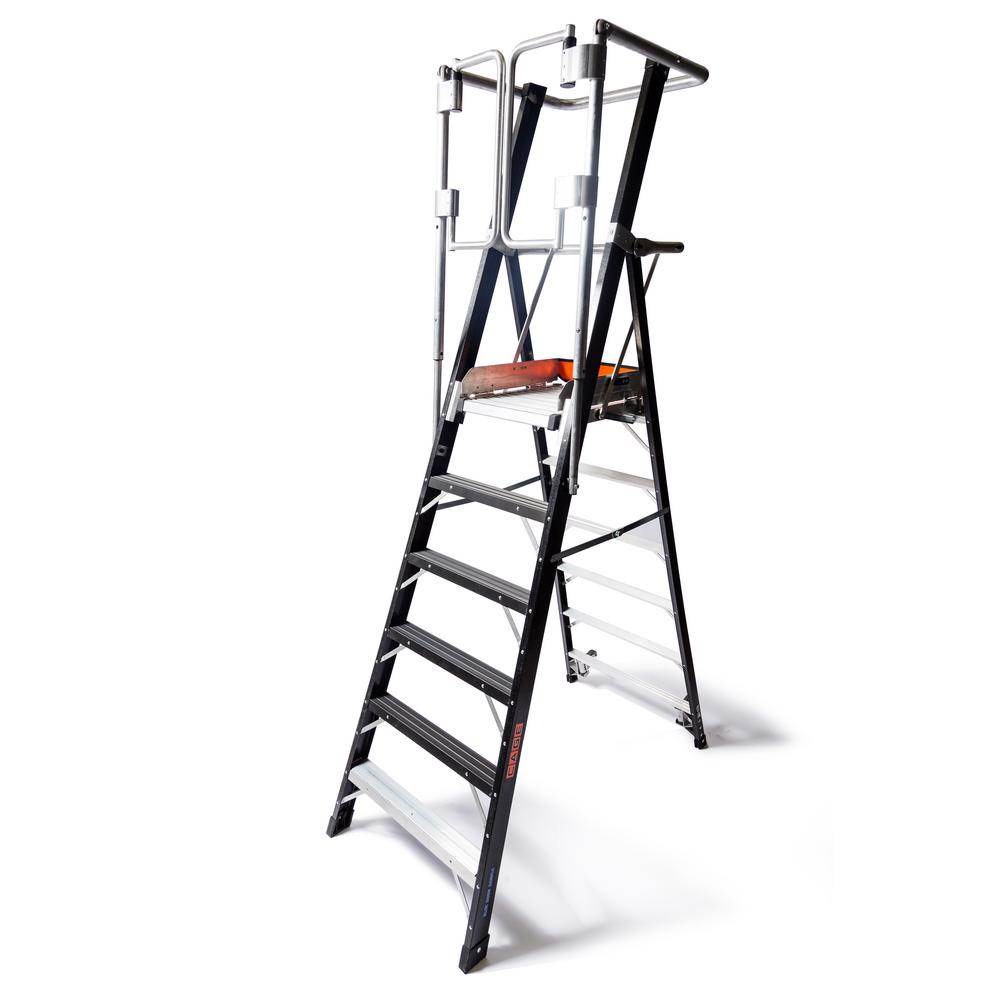 Little Giant Ladder Systems 6 Ft Fiberglass 375 Lbs
