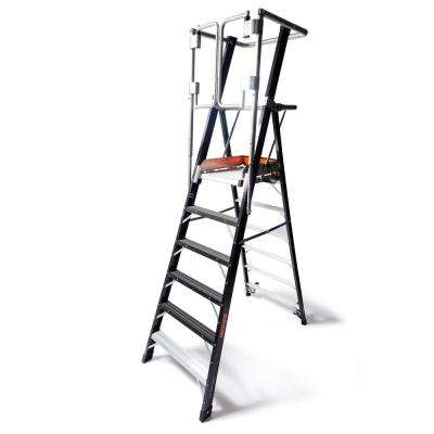 6 ft. Fiberglass 375 lbs. Rated Type IAA Safety Cage