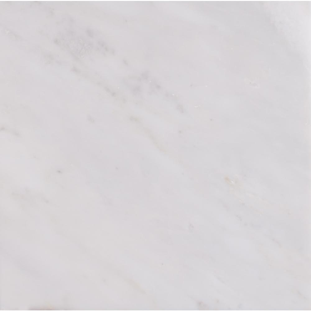 MSI Greecian White 18 in. x 18 in. Polished Marble Floor and Wall Tile (11.25 sq. ft. /case)