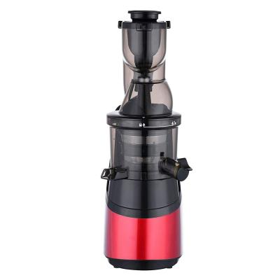Silver Slow Red Masticating Juicer Cold Press High Yield Vertical Juicer