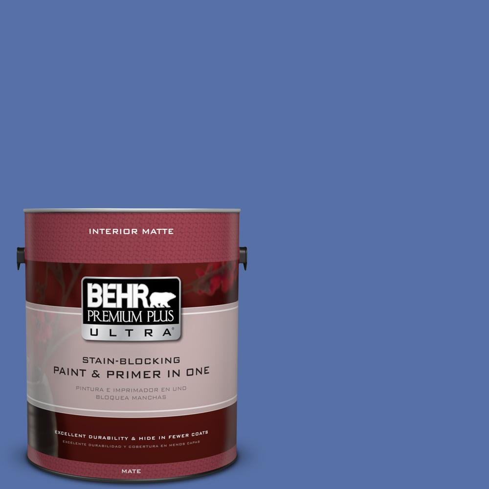 1 gal. #MQ5-47 Splendor and Pride Matte Interior Paint and Primer