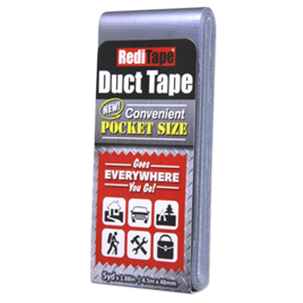 DANCO 1-22/25 in. x 5 yds. RediTape Silver All Purpose Duct Tape