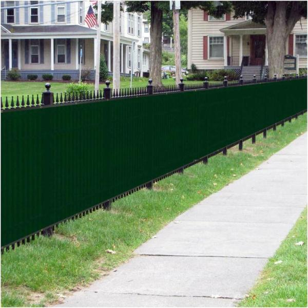PVC Cover Strip Cover profiles Privacy Fence Sight Protection Mat//Brown 6m// 6x1m