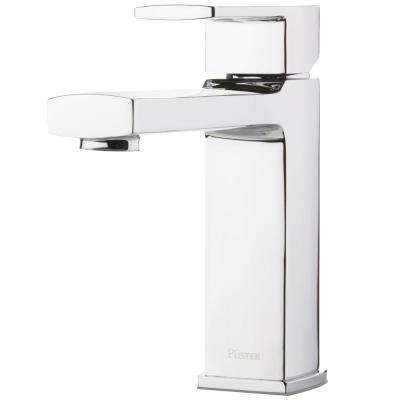 Deckard Single-Handle Deck Mount Roman Tub Faucet in Polished Chrome