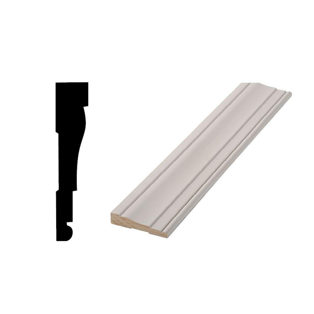WM 445 11/16 in. x 3-1/4 in. Primed Finger-Jointed Door and Window Casing