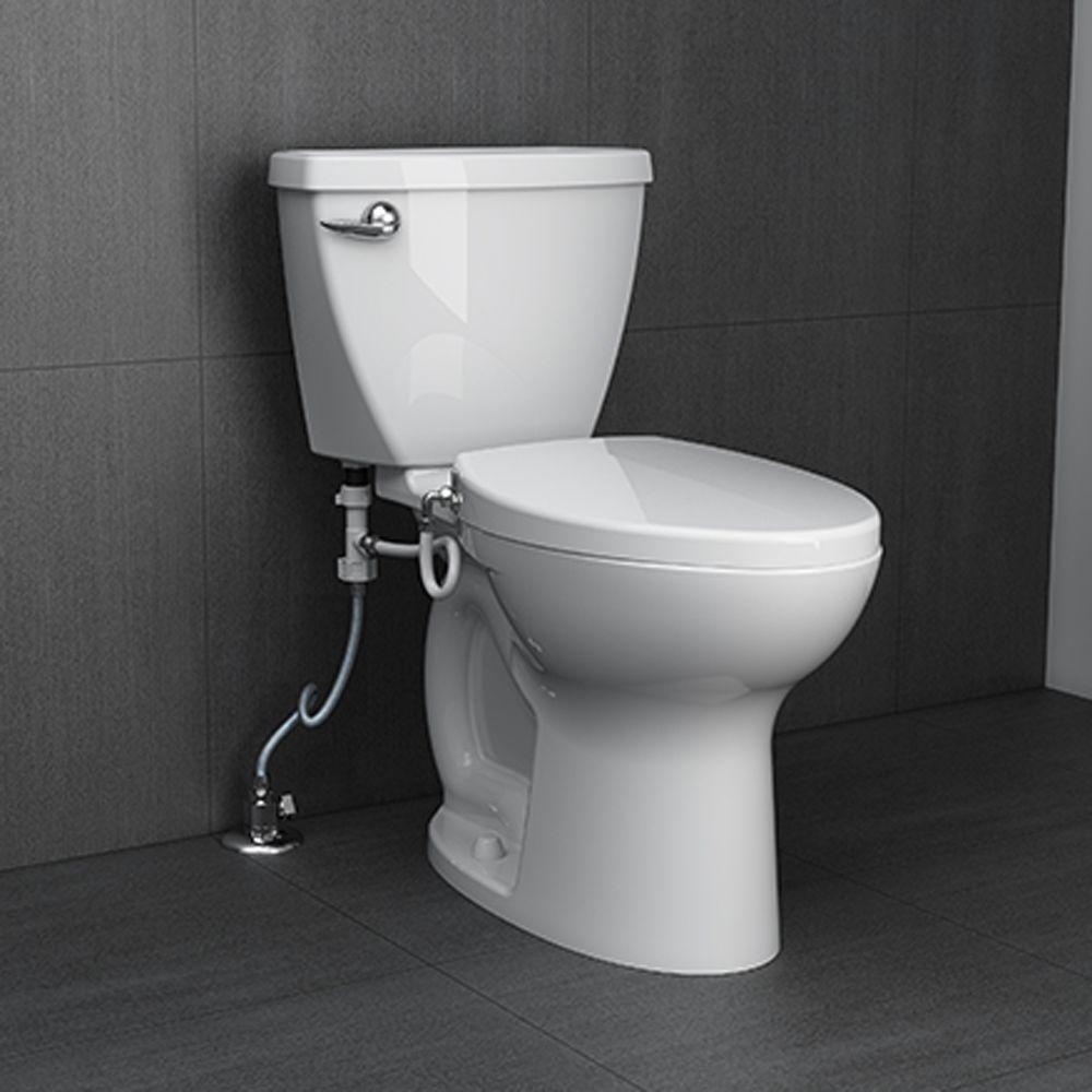 Sensational American Standard Aquawash Non Electric Slow Close Bidet Seat For Elongated Toilets In White Ibusinesslaw Wood Chair Design Ideas Ibusinesslaworg
