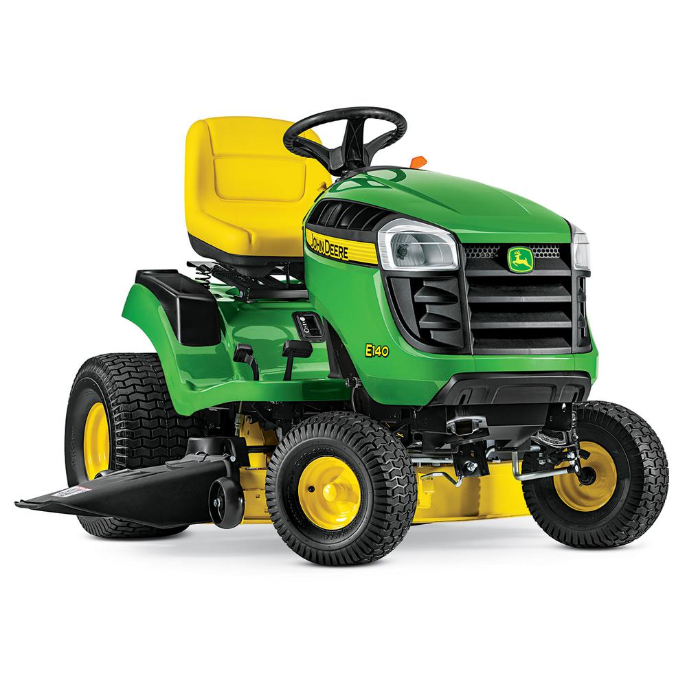 John Deere E140 48 In 22 Hp V Twin Gas Hydrostatic Lawn Tractor