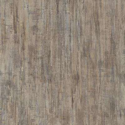 Take Home Sample - Brushed Chocolate Luxury Vinyl Flooring with 4 in. x 4 in.