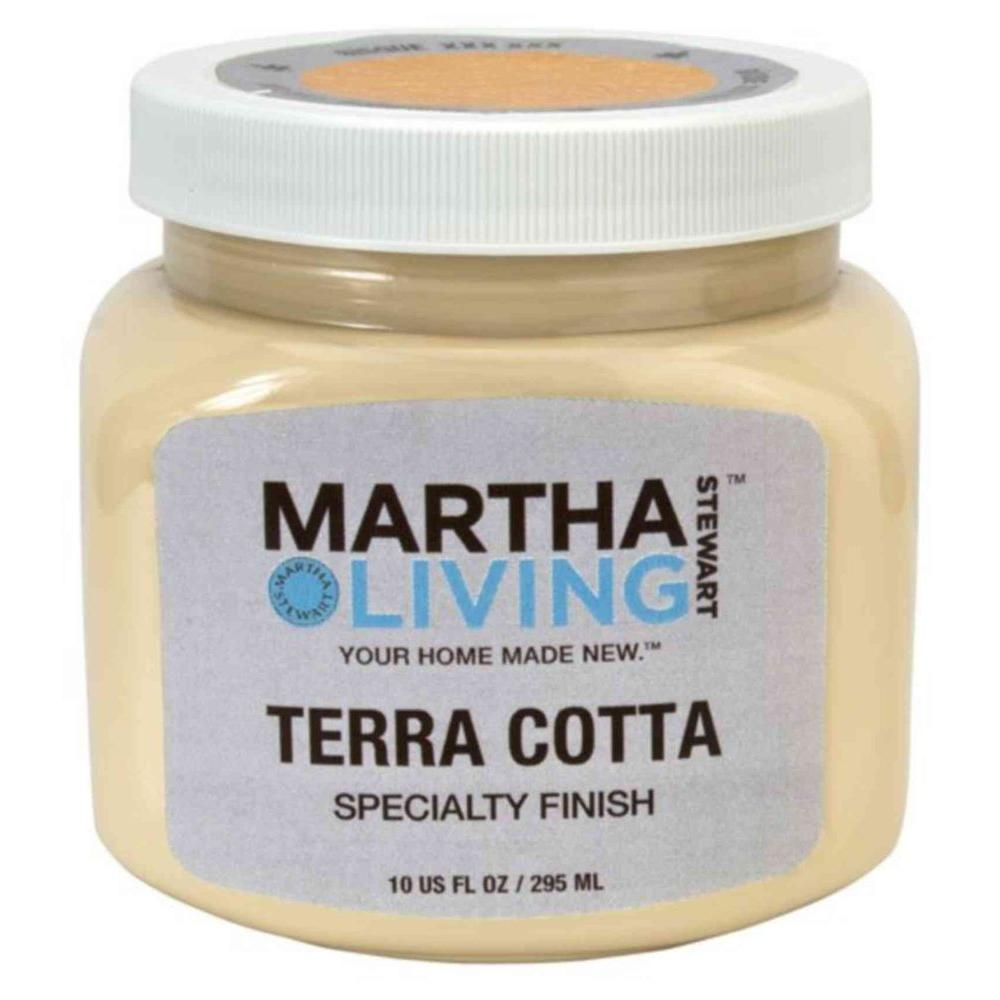 Martha Stewart Living 10 Oz. Bisque   Terra Cotta Paint