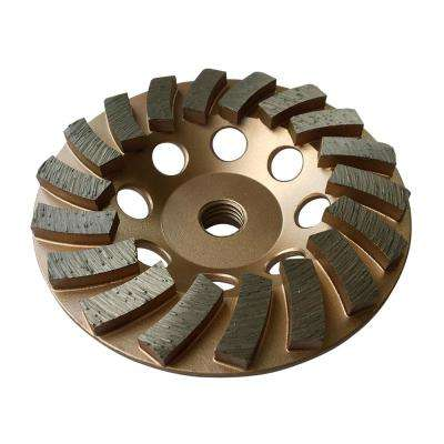 4.5 in. Diamond Grinding Wheel for Concrete 18 Segments 5/8 in. to 11 in. Arbor