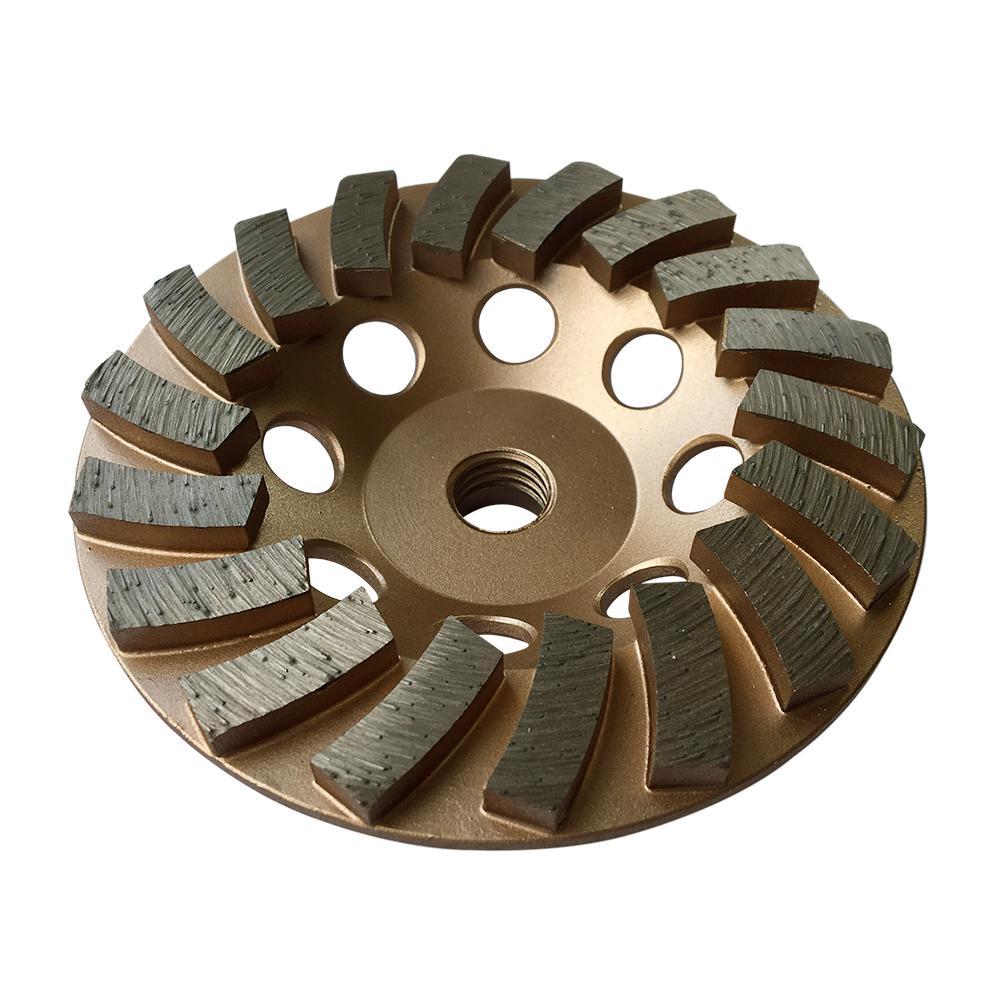 4.5 in. Diamond Grinding Wheel for Concrete 18 Segments 5/8 in. to 11 in. Arbor