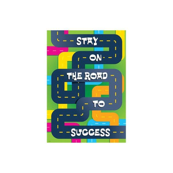 TREND ENTERPRISES INC. Stay On the Road to Success Poster