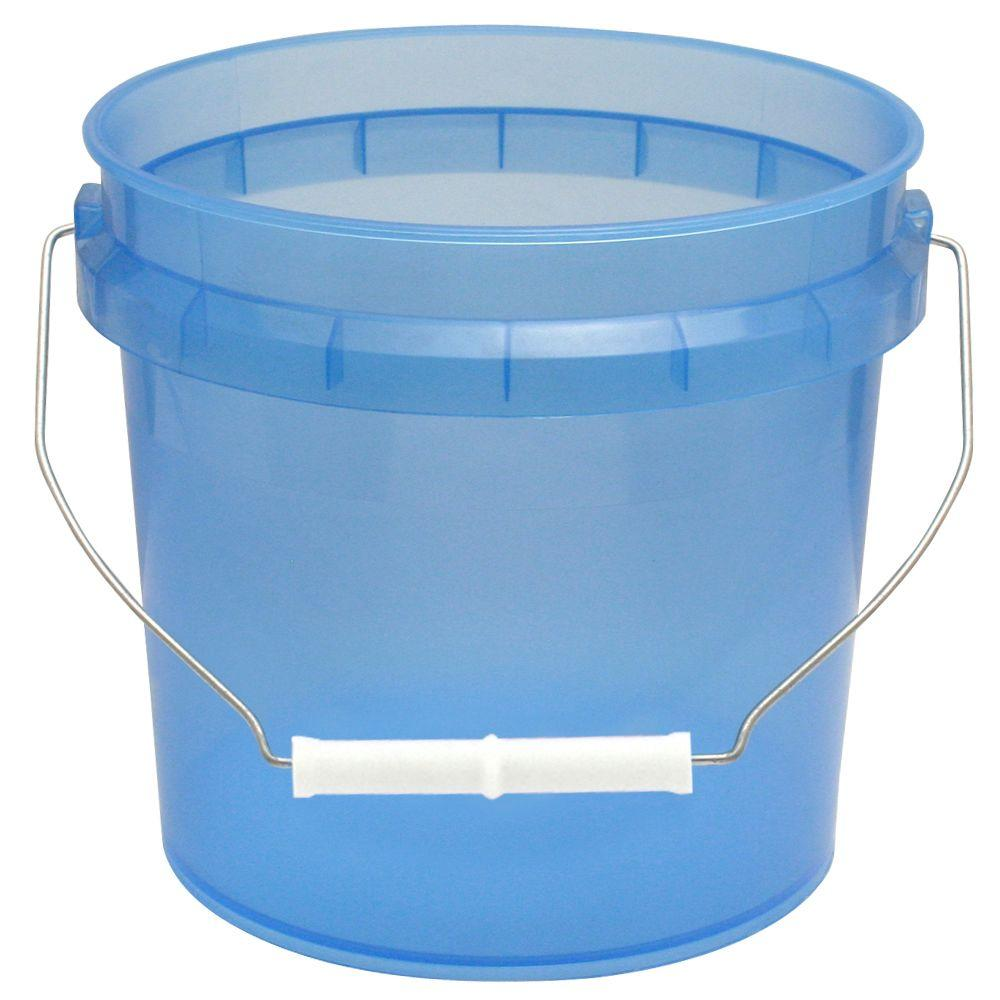 1-Gal. Blue Translucent Pail (12-Pack)