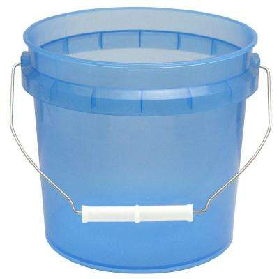 1-Gal. Blue Translucent Pail (12-Pack)
