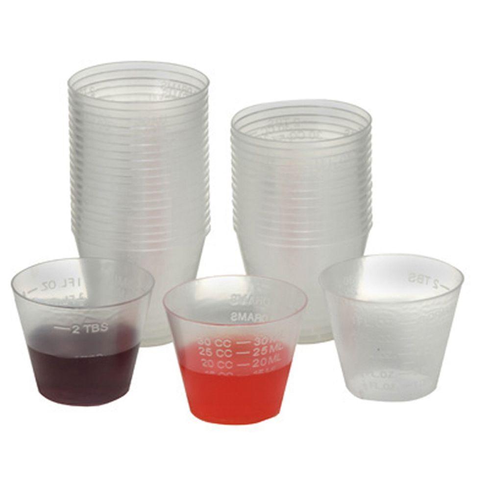 Unbreakable Plastic Medicine Cup