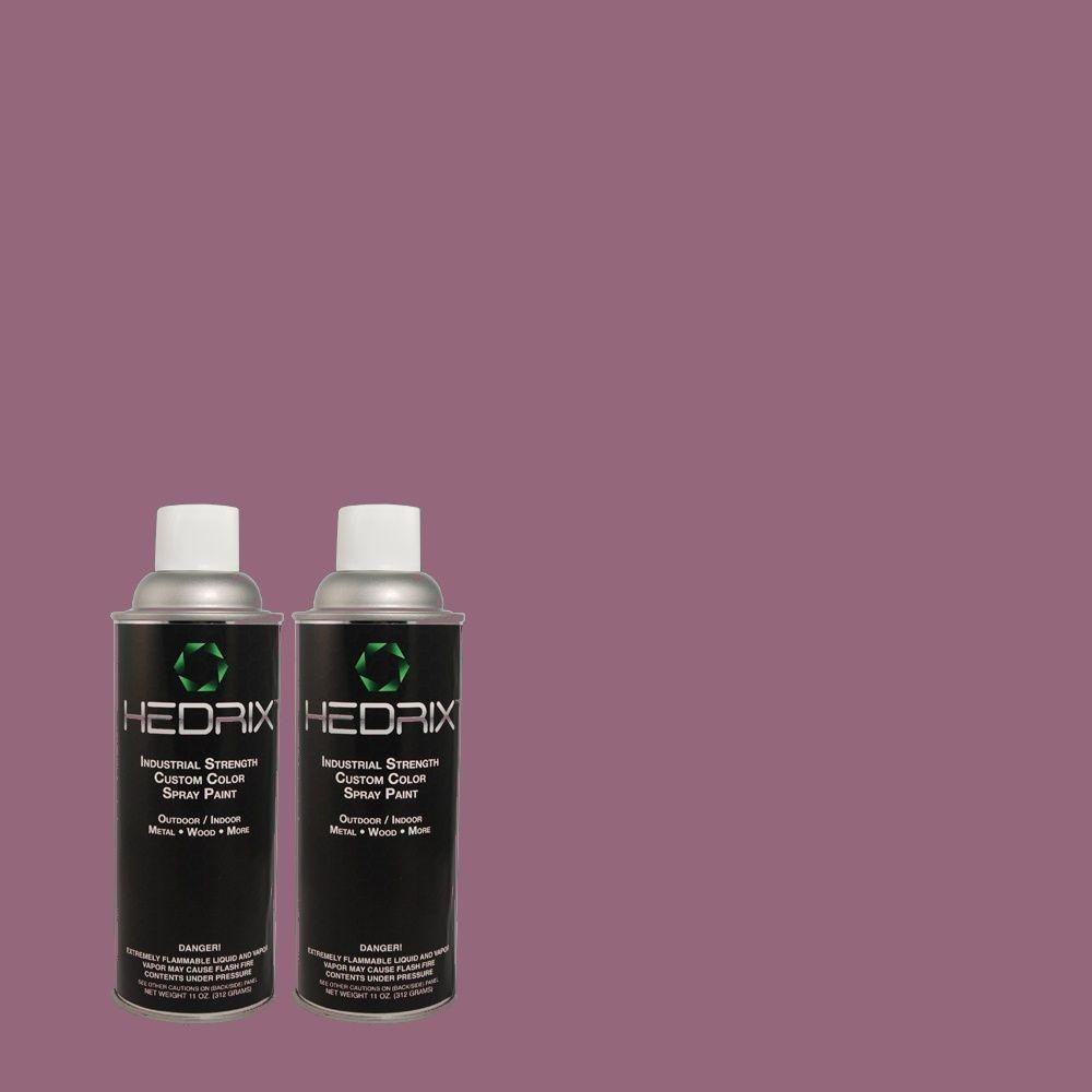 Hedrix 11 oz. Match of MQ5-34 Showstopper Gloss Custom Spray Paint (2-Pack)