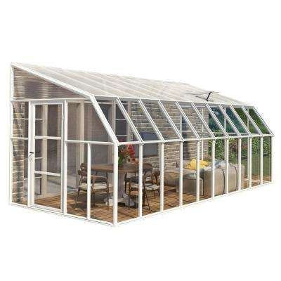 Sun Room 8 ft  x 20 ft  Clear Greenhouse