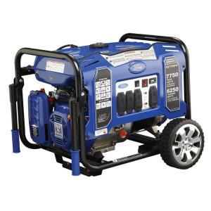 Ford 7,750-Watt Gasoline Powered Electric Start Portable Generator by Ford